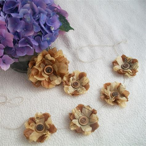 Craft Paper Pattern - recycling paper and sewing pattern paper flower tutorial