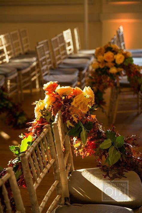 autumn themed new york wedding at oheka castle modwedding