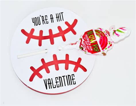 valentines baseball ld solutions valentines for boys freebie included