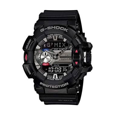 Jam Casio G Shock Gba 400 Gmix Merah jual jam tangan casio g shock bluetooth harga promo blibli