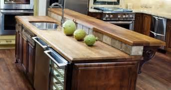 raised bar countertop teak countertops j aaron