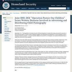 Asset Forfeiture And Money Laundering Section by Operation Protect Our Children