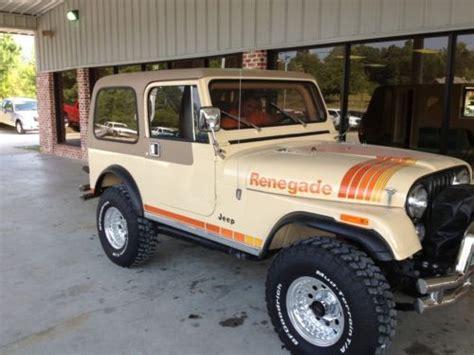 83 Jeep Cj7 Purchase Used 83 Cj7 Fully Restored Jeep Wrangler Renegade
