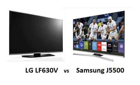 samsung v lg tv samsung j5500 vs lg lf630v led tv reviews