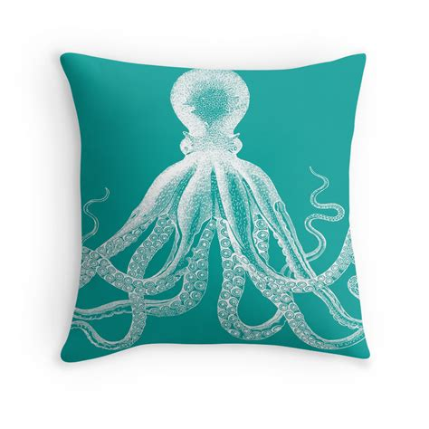 nautical boat cushions octopus cushion cover octopus throw pillow covers