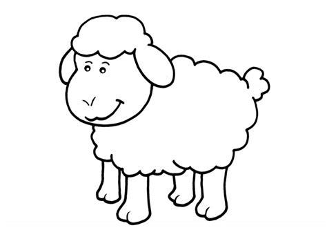 Imagenes De Ovejas Faciles Para Dibujar | dibujos de ovejas para colorear y pintar
