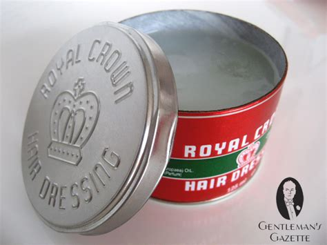 Pomade Royal Crown by Pomade Guide Test Brown Murray S Royal Crown