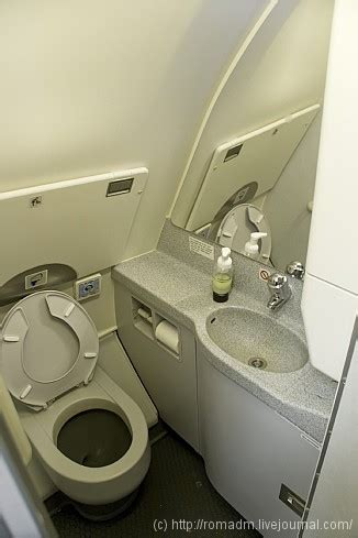 how do airplane bathrooms work plane toilet how things work english russia