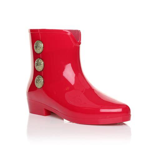 womens ankle garden jelly wellie wellington