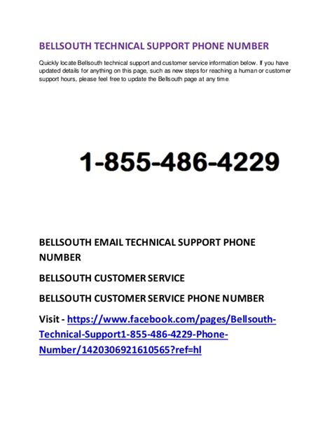 Bellsouth Phone Number Lookup 1 855 486 4229 Bellsouth Email Tech Support Phone Number Customer Service