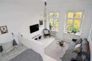scandinavian style home a tiny apartments roundup 500 square foot or less spaces freshome com