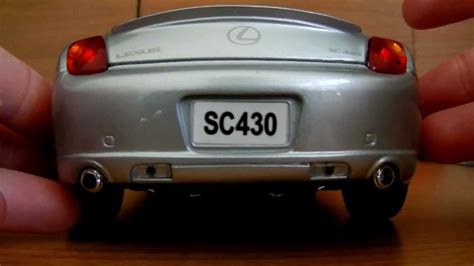 a review of my 1 18 scale lexus sc430 convertible made by