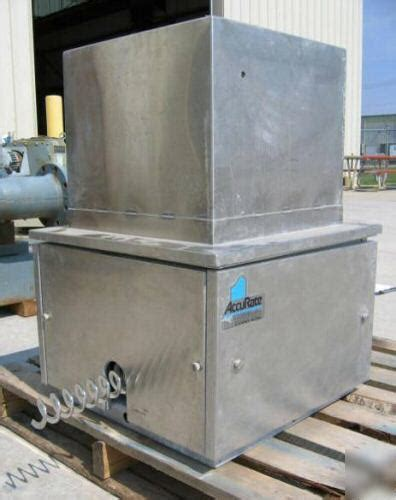 Accurate Feeder 2 188 schenck accurate ss feeder model 603 4469