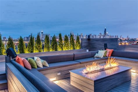 astounding rooftop terrace designs   steal  show