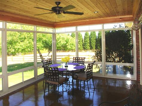 greenville sc porches sunrooms eze our work