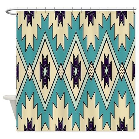 native american curtains native american pattern shower curtain by chenocetah