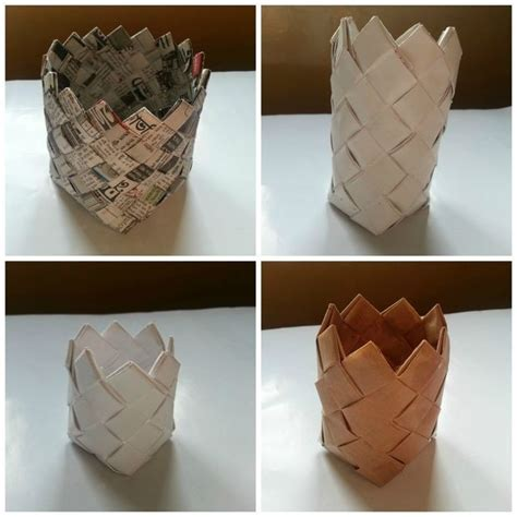 craft ideas for with paper step by step recycled paper crafts step by step find craft ideas
