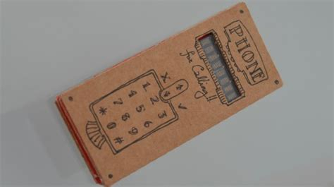 como hacer un telefono de carton construye tu propio tel 233 fono m 243 vil de cart 243 n omicrono