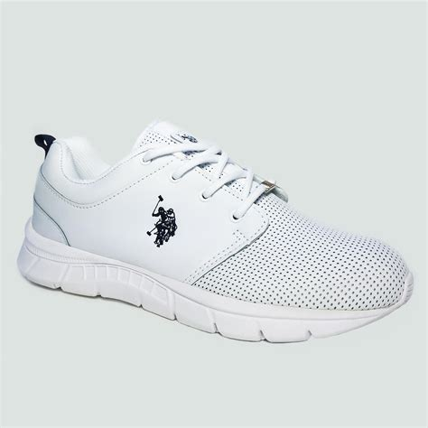 Us Polo Assn U S P A Shoes u s polo assn s clinch white athletic shoe shoes