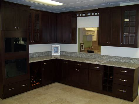 Dark Espresso Kitchen Cabinets by Kitchen Remodeling Dark Cabinets Gallery Also Modern