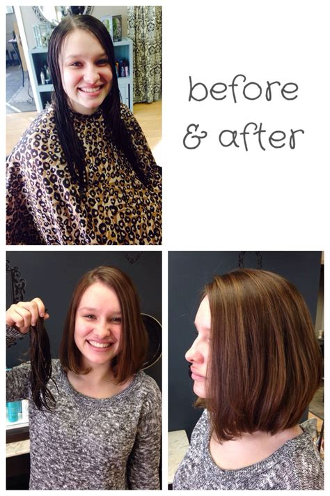 haircut before or after dye before and after hair before after haircut cut color