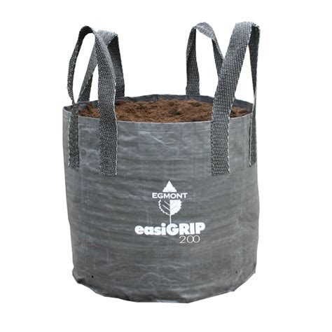 Planterbag 200 Liter Putih Egmont Easi Grip Planter Bag 200l Black Bunnings Warehouse