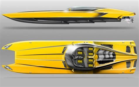 mti lambo boat wordlesstech lamborghini aventador 3000hp power boat