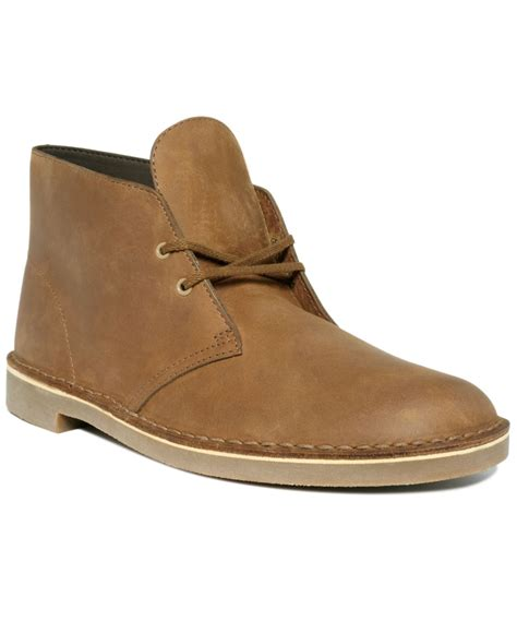 Clarks Chuka Brown clarks s bushacre 2 chukka boot in brown for lyst
