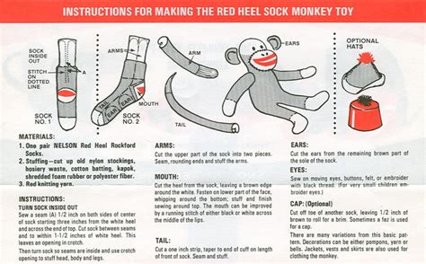 sock monkey template 40 and cozy sock monkeys to make