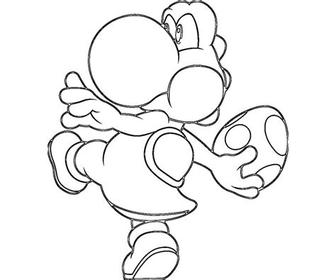 yoshi coloring pages mario and yoshi coloring pages to print