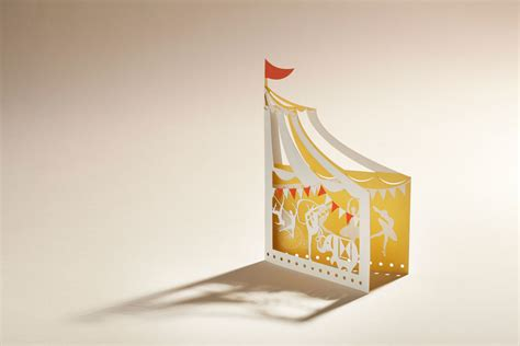 Circus Tent Template Card by Artymiss 187 Showcase