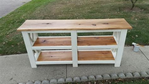 Do It Yourself Living Room Table Rustic X Console Table Do It Yourself Home Projects From