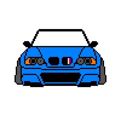 pixel art car requested pixel art blogpost