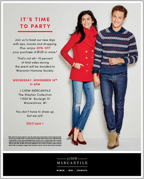 Tj Maxx Grand Opening Giveaways - come to the j crew mercantile grand opening event the mayfair collection