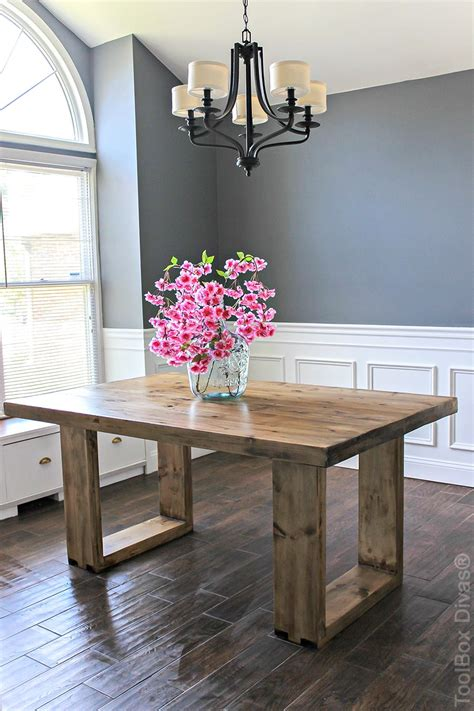 husky modern dining table diy dining table modern