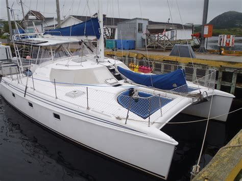 old catamaran hull for sale the multihull company used catamarans for sale under 40 feet