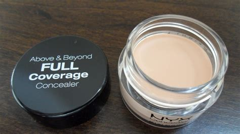 Nyx Above And Beyond Concealer sophiesayshi nyx above and beyond coverage concealer