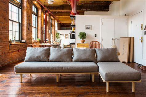 sofa easy to move greycork furniture the awesomer