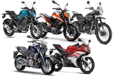 best bikes in india 5 best bikes 2 lakhs in india 2017 autocar india