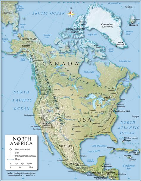 america map rivers blank physical map of america with rivers and mountains
