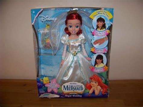 Wedding Doll Small walt disney princess mermaid doll royal wedding ebay