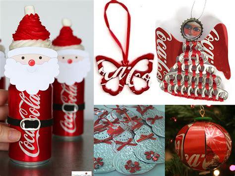 decorar latas papel descubre un mont 243 n de manualidades con latas de coca cola