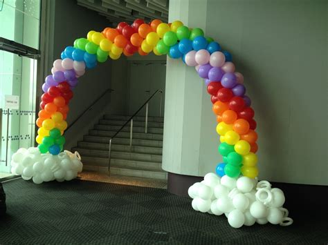 Balloon Arch Decorations by Balloon Rainbow Arch Singapore That Balloons