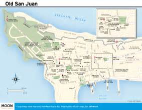 San Juan Puerto Rico Map by Maps Of Puerto Rico Free Printable Travel Maps From Moon