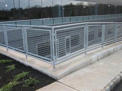 railing infill panels wire mesh infill panels