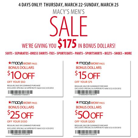 printable macy s coupons printable coupons