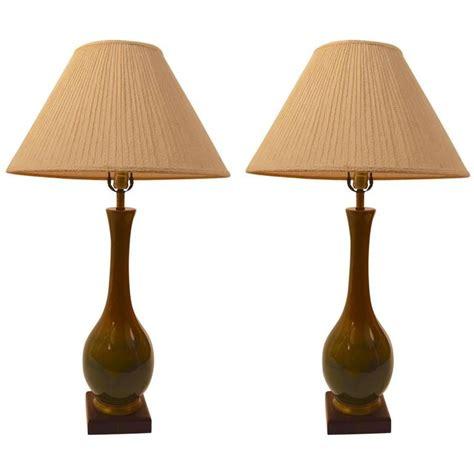 ceramic teardrop table l pair of teardrop ceramic high glaze table ls for sale