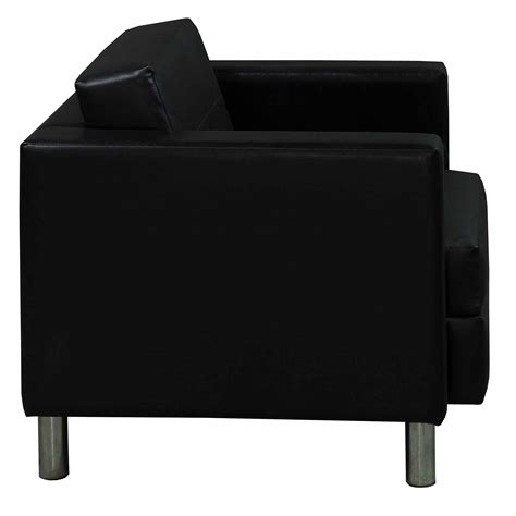 leather reception chairs leather used reception chair black national office