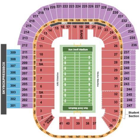 sun devil stadium   sun devil stadium seating