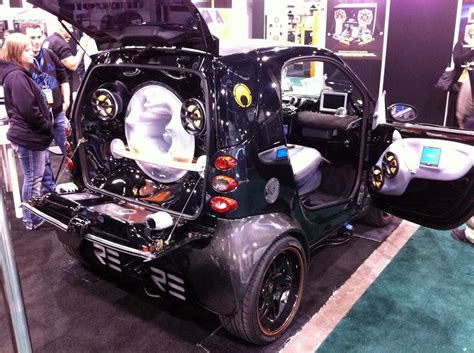 pimped out smart car 20 best neon colored cars images on pinterest